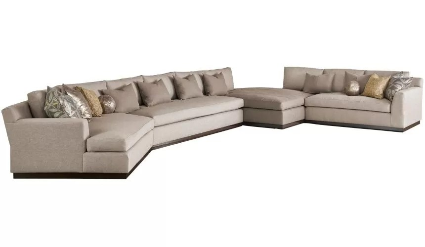 high end persian oasis sectional sofa