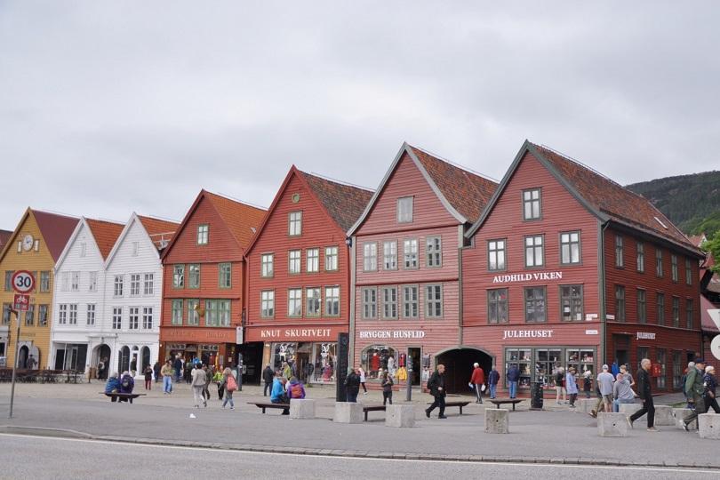 Bryggen evleri