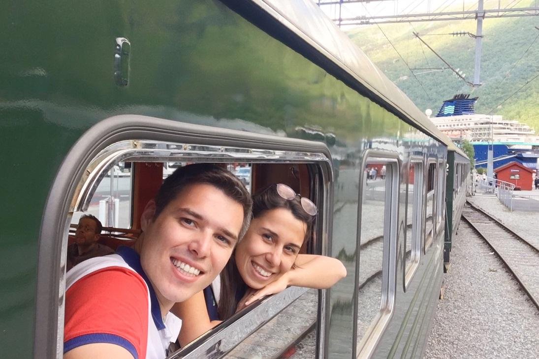 Flamsbana treni