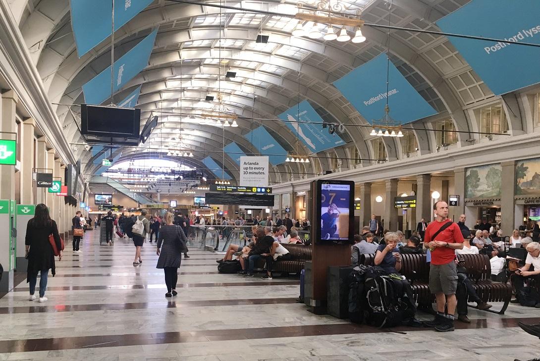 Interrail – Stockholm Tren İstasyonu