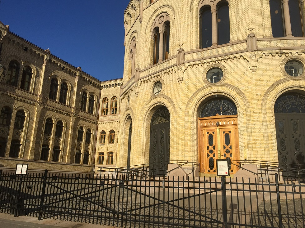 Oslo Parlamento Binası