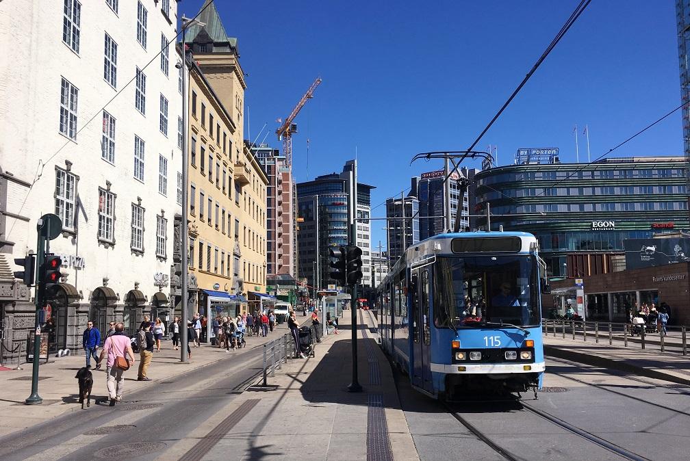 Oslo'da ulaşım
