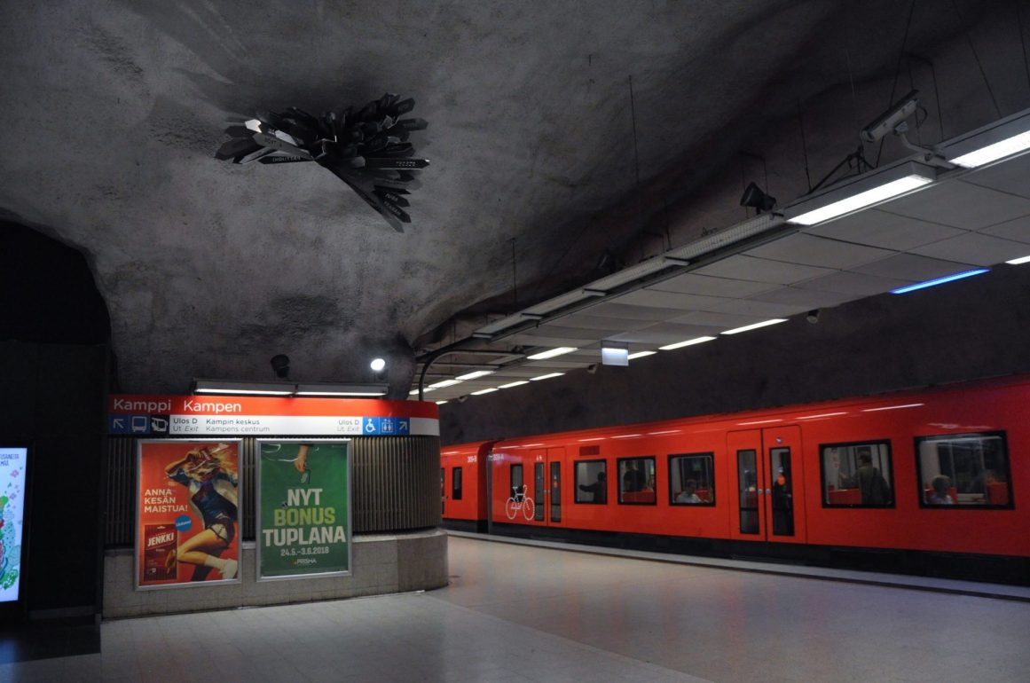 Kamppi Metro İstasyonu