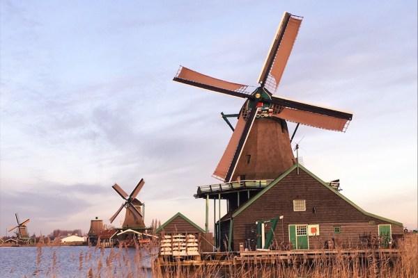 Amsterdam Masalsı Köy: Zaanse Schans