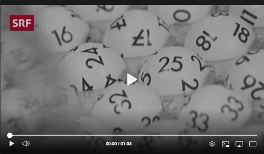 Screenshot Webvideo Zahlenlotto