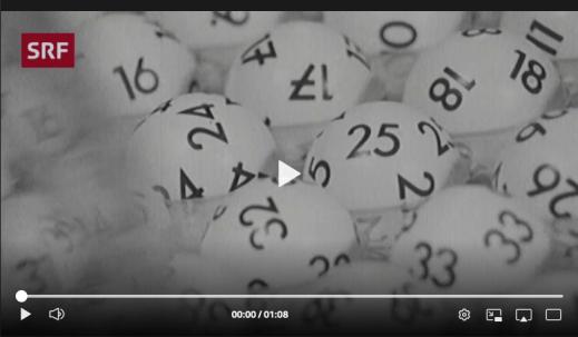Screenshot Webvideo Zahlenlotto
