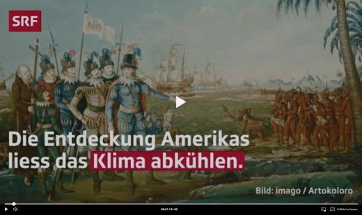 Screenshot Webvideo Entdeckung Amerikas Klima