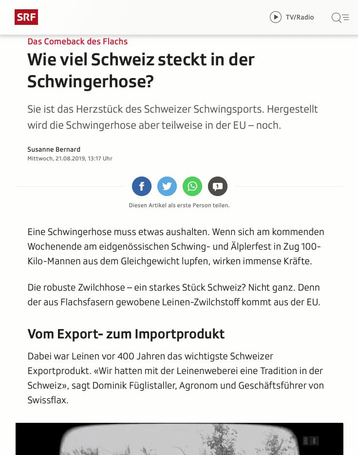 Screenshot Artikel Schwingerhose