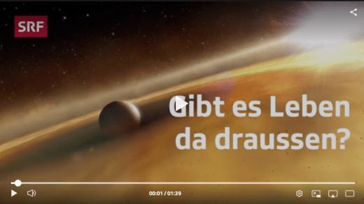 Screenshot Webvideo Cheops-Satellit