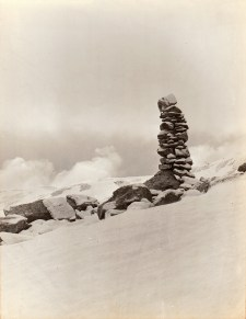 Crédit H. BUTEL- le cairn du col de Pombie
