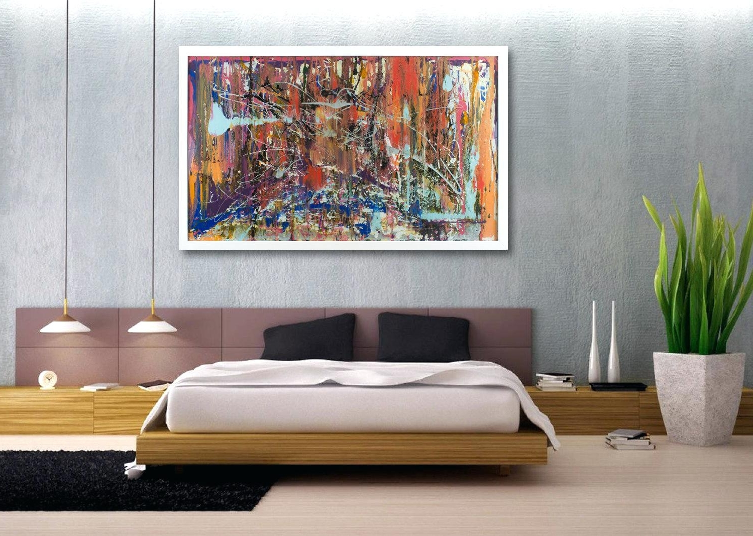 2019 Popular Large Horizontal Wall Art