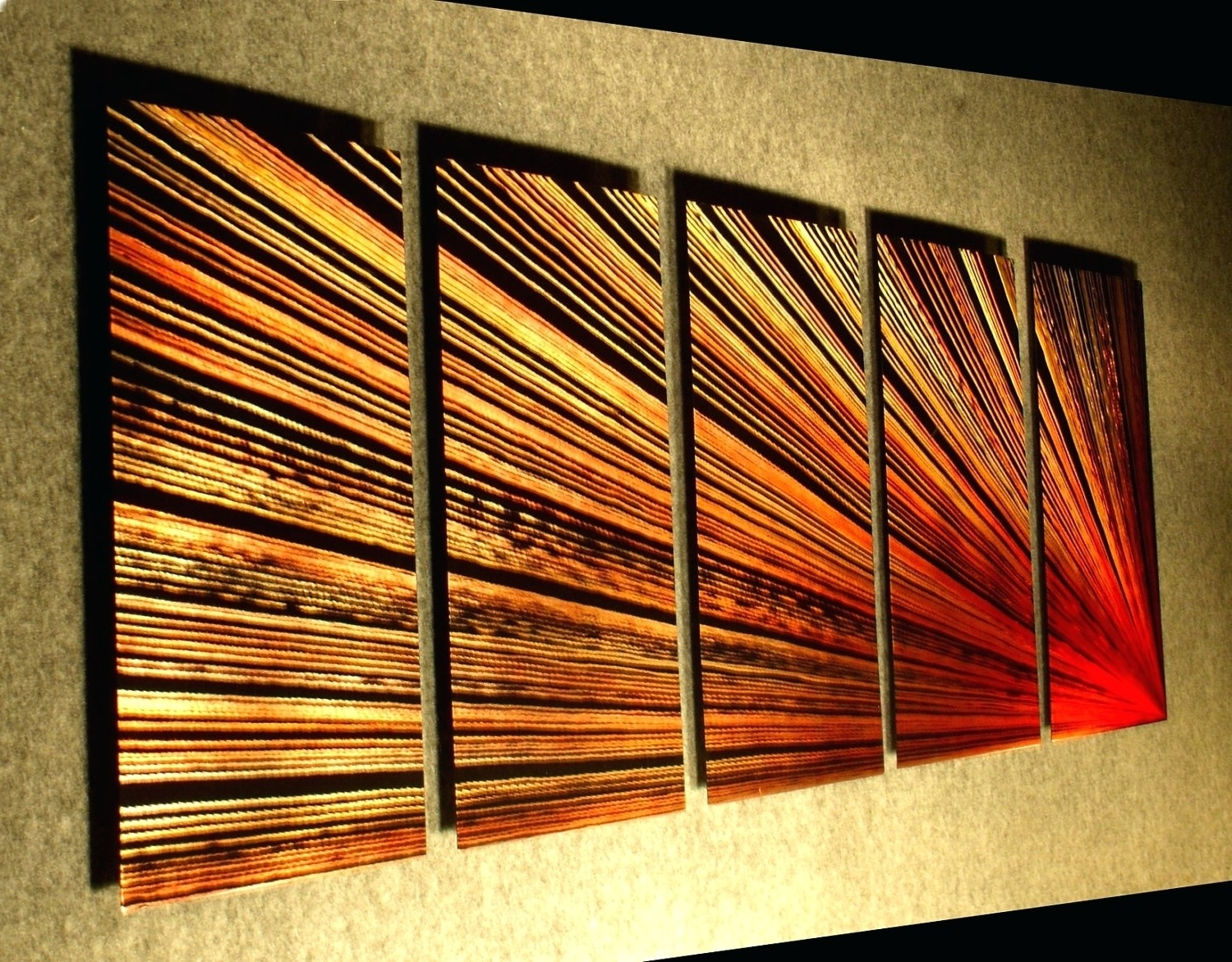 2019 Best Of Inexpensive Abstract Metal Wall Art