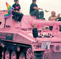 Crack SS Gay Brigade storms America