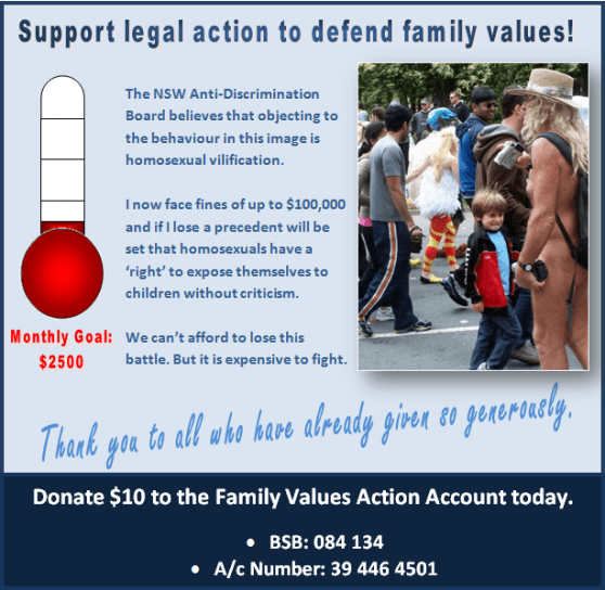 Support legal action $650