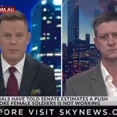 Interviews with Sky News and 2GB