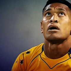 Izzy Folau's uneven battleground