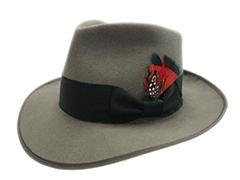 The Big Heat Custom Made Fur Felt Fedora Movie Hat