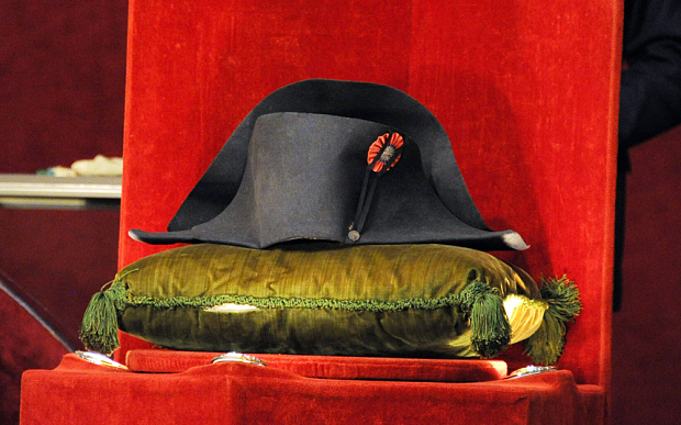 Napoleon's hat sells for £1.5 million
