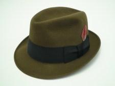 Knox New York Mink Brown Fur Felt Fedora Hat
