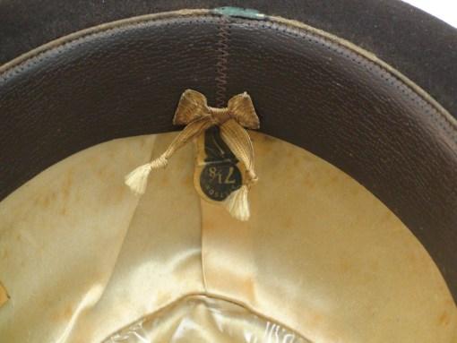 Royal Stetson Fedora Dark Brown Fur Felt Hat