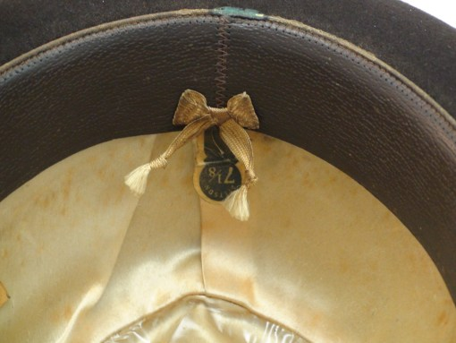 Royal Stetson Fedora Dark Brown Fur Felt Hat