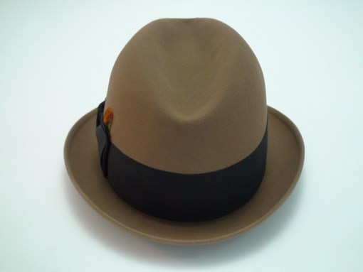 Resistol Self Conforming 3X Beaver Kitten Finish Beige Fedora Hat