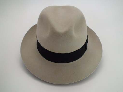 Smithbilt Hats Knight 5X 100% Fur Felt Silverbelly Fedora Hat