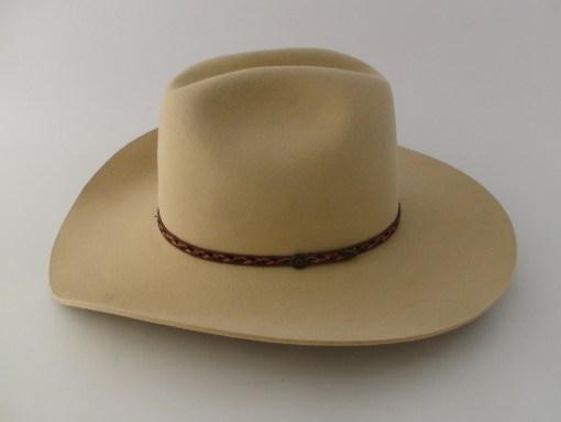 Smithbilt Hats 100% Fur Felt Kakhi Cowboy Hat