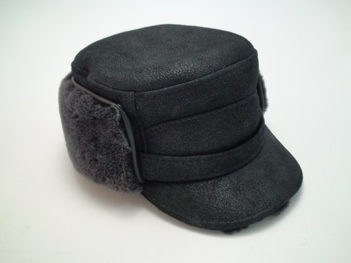 Ricardo Sheepskin Winter Captain Hat