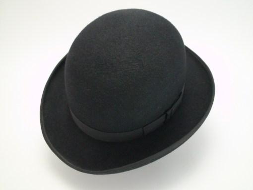 The Chaplin Custom Made Beaver Fur Felt Bowler Derby Movie Hat