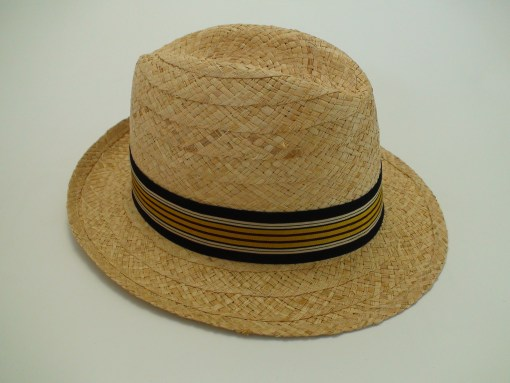 Biltmore Hats Optimo Natural Raffia Panama Fedora Hat