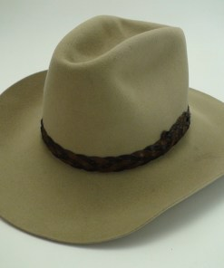 Miller Hats Brown Wool Felt Cowboy Hat