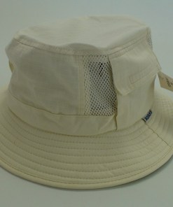 Adams Ivory 100% Cotton Vented Outdoor Fishing Bucket Hat