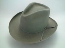 Resistol Topeka 4X Beaver Smoke Grey Cowboy Hat