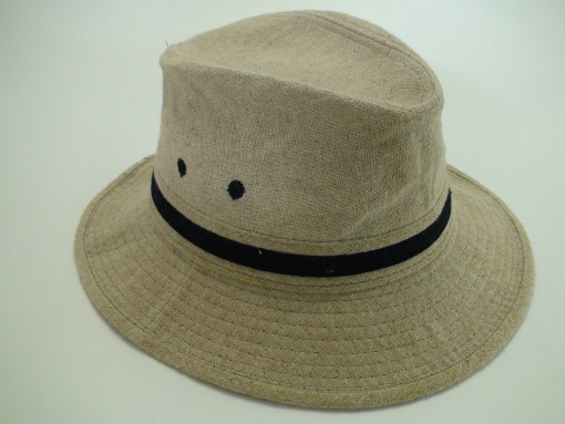Tommy Bahama Relax Fit Beige Linen Outdoor Safari Hat