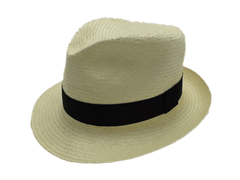 Tilley Endurables Shantung White Panama Fedora Hat