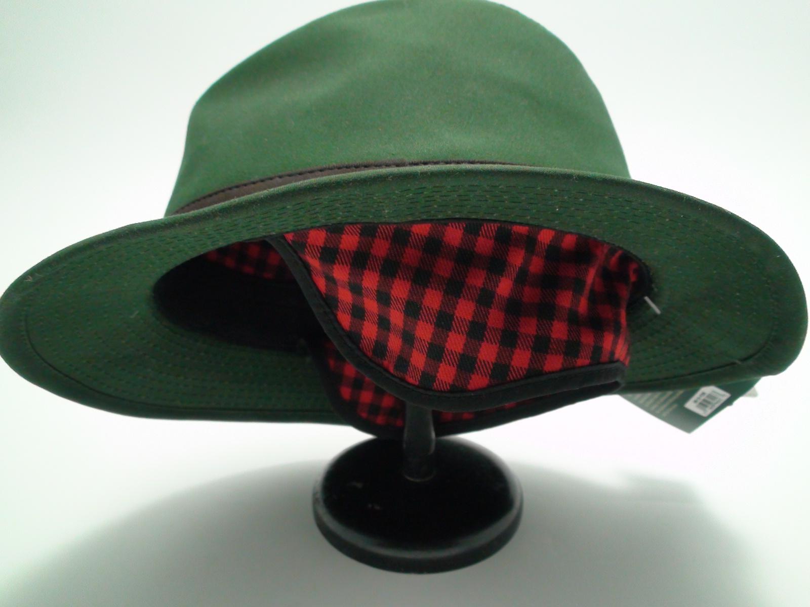 9578213f587de Woolrich Waxed Cotton Safari Moss Green Outdoor Hat