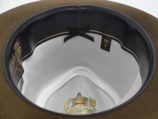 Stetson Sovereign Dega Sage Brown Fur Felt Fedora Hat