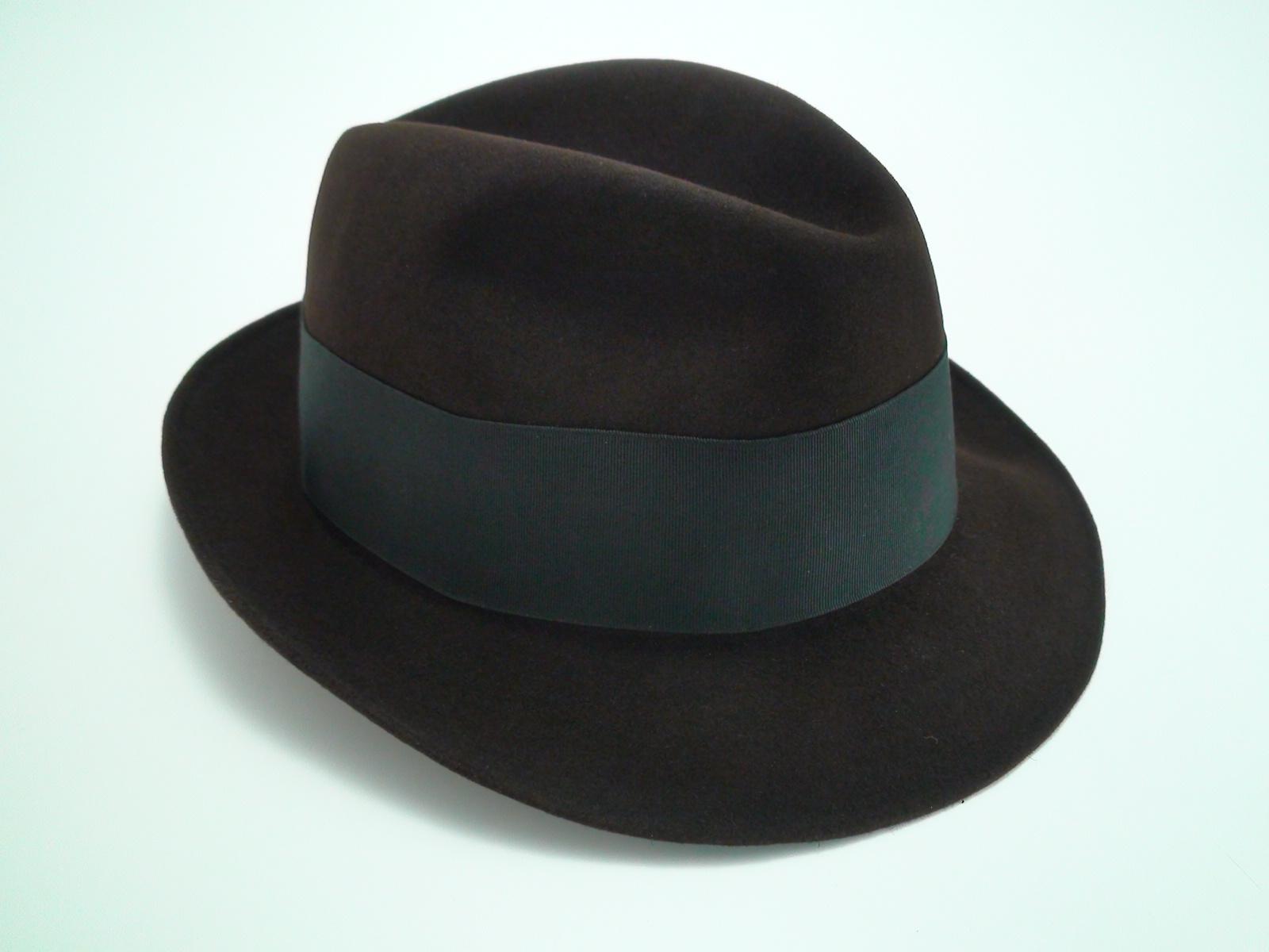 4ea849ae0c7a4 Resistol Fedora 3X Beaver Brown Krushable Fur Felt Hat