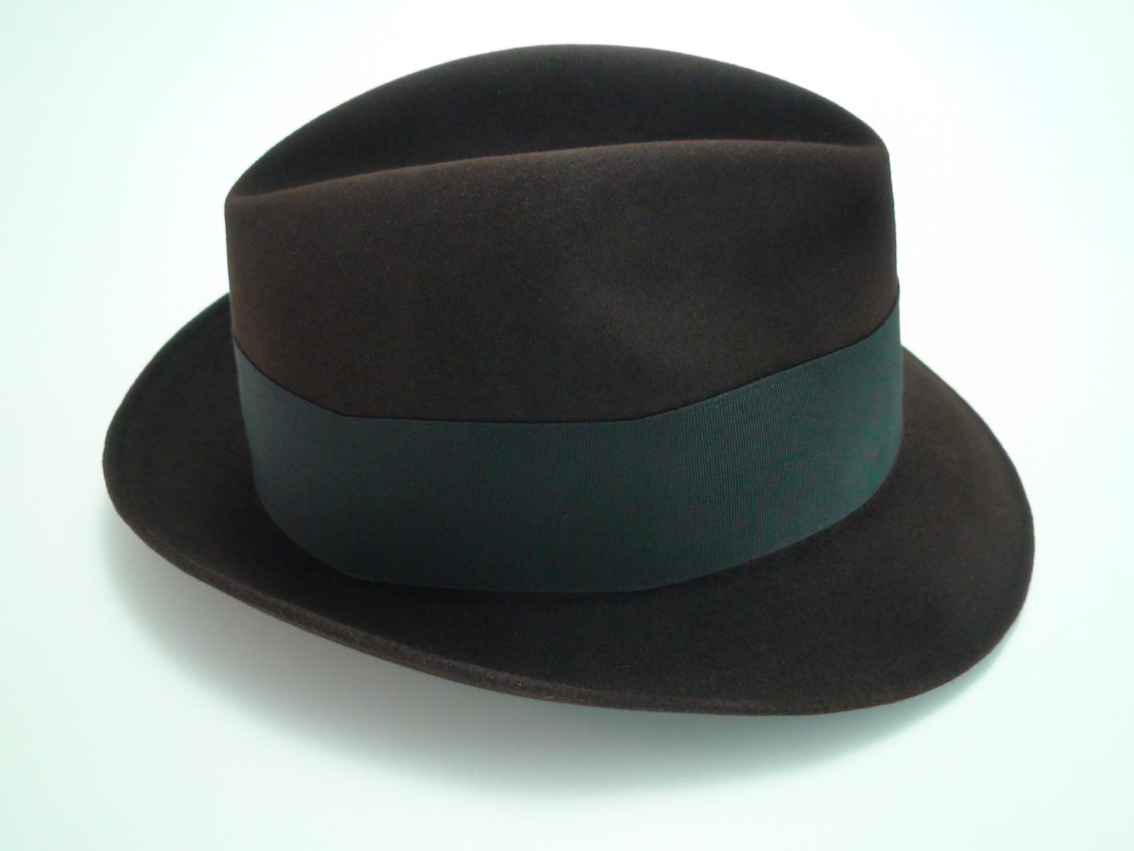 7a05ececc6 Resistol Fedora 3X Beaver Brown Krushable Fur Felt Hat