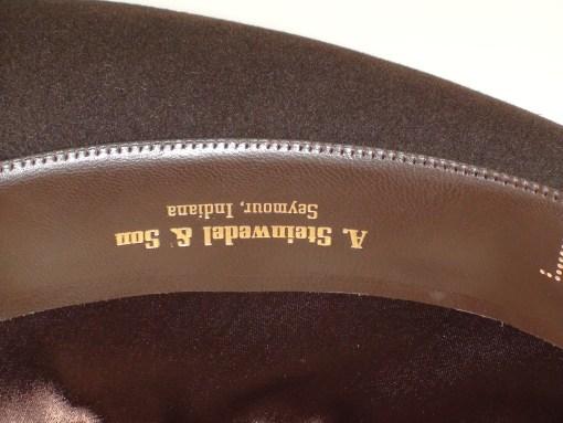 Resistol Fedora 3X Beaver Brown Krushable Fur Felt Hat