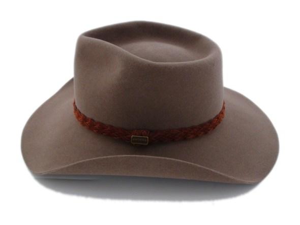 ce3e231cedb Akubra Hats Snowy River Fawn Brown Australian Cowboy Hat