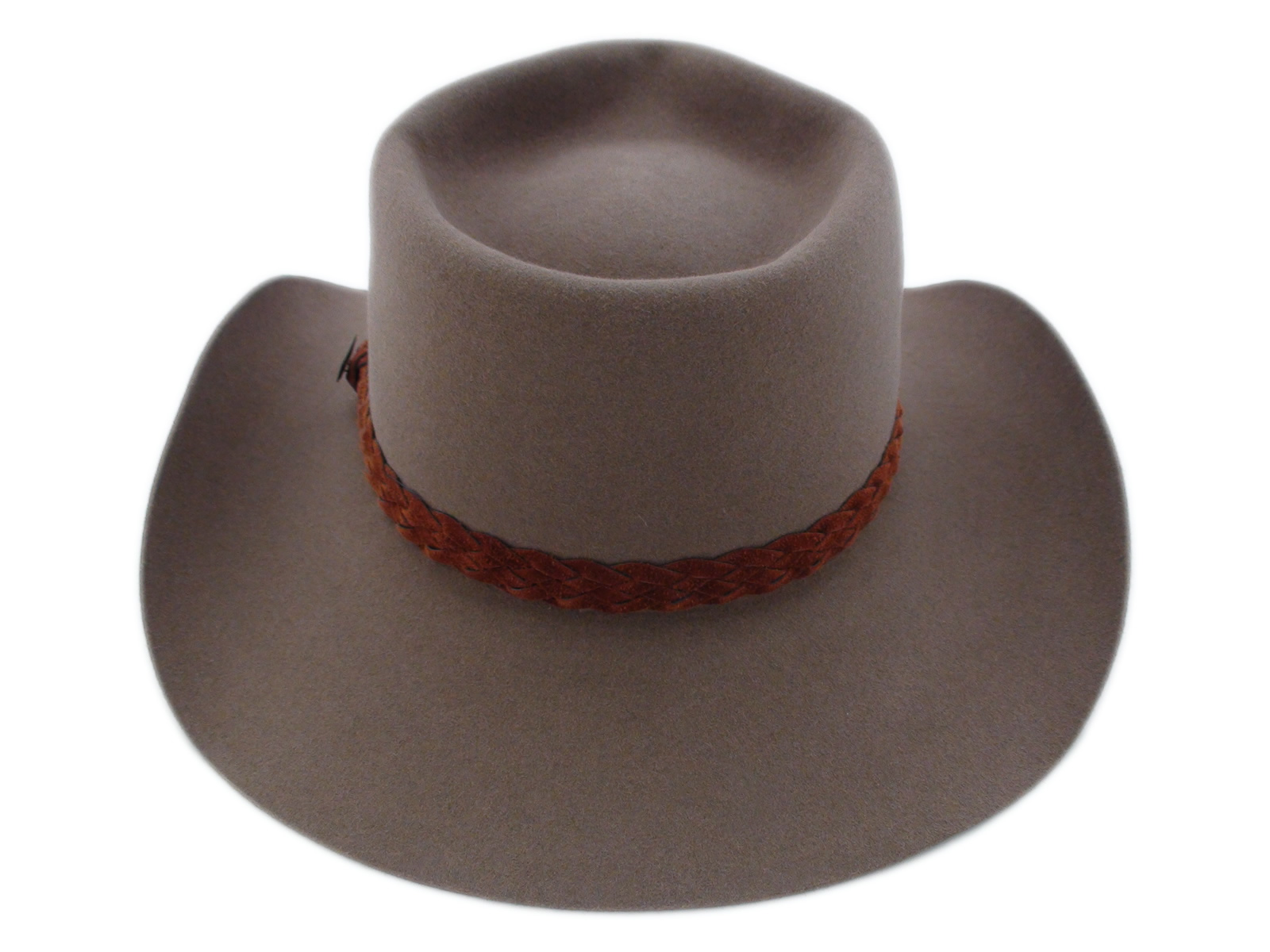 Akubra Hats Snowy River Fawn Brown Australian Cowboy Hat 0d925cd15eb