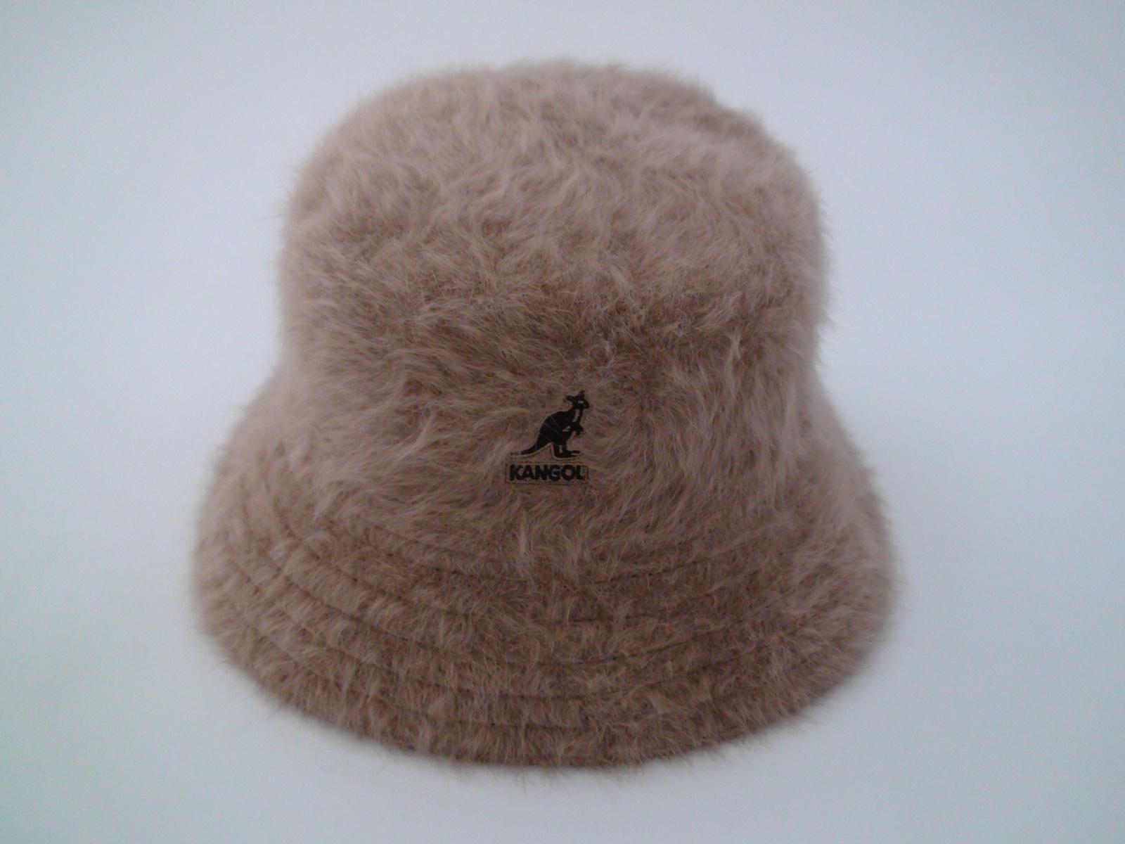 Kangol Furgora Lahinch Brown Angora Blend Bucket Hat 61a3f092bb3