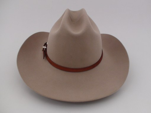 Stetson 4X Beaver Silverbelly Fur Felt Cowboy Hat