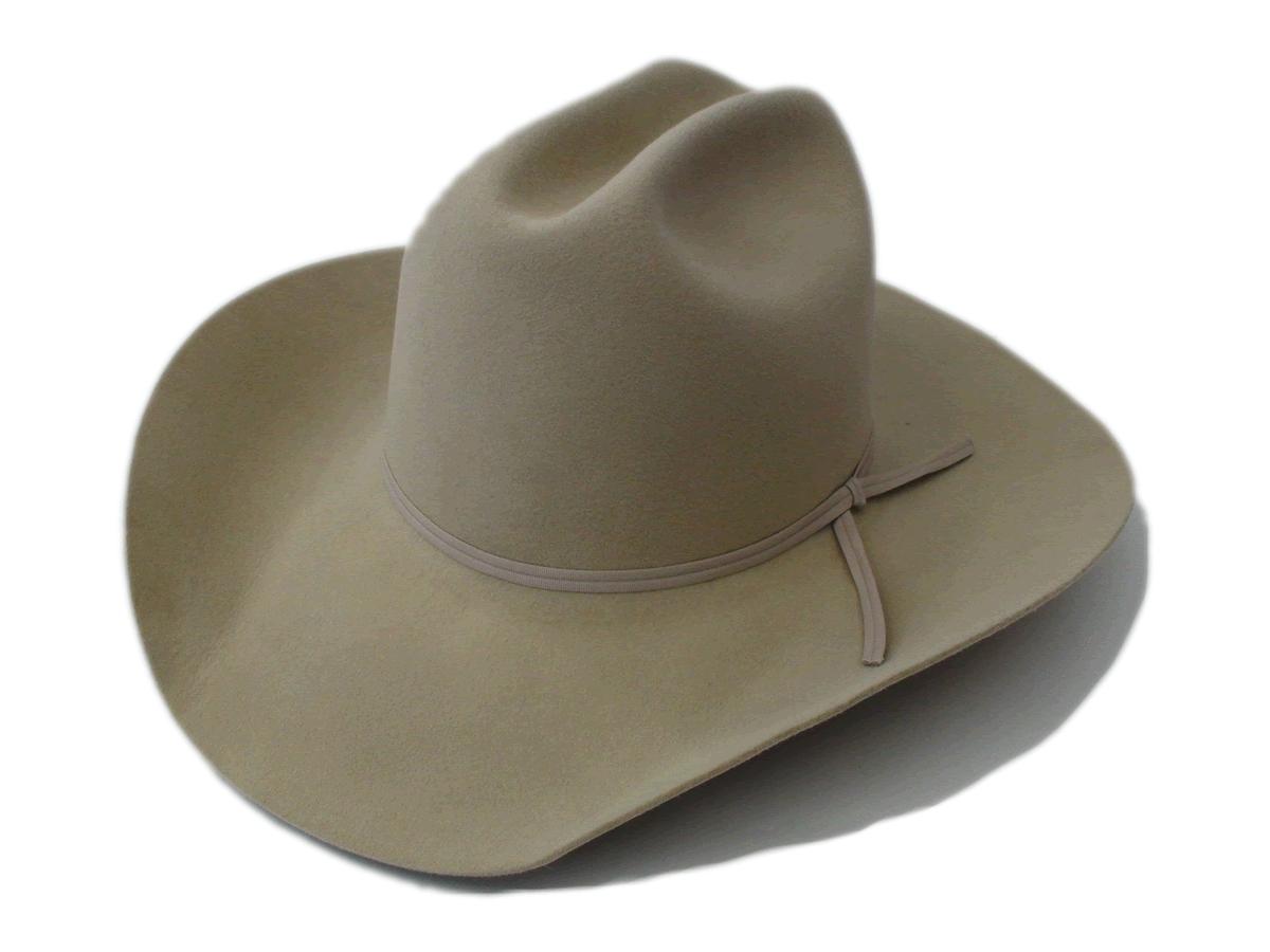 04492a45b45 NEW Smithbilt Hats 100% Fur Felt Sahara Cowboy Hat Sizes 7 1 8″ – 7 1 4″ – 7  3 8″