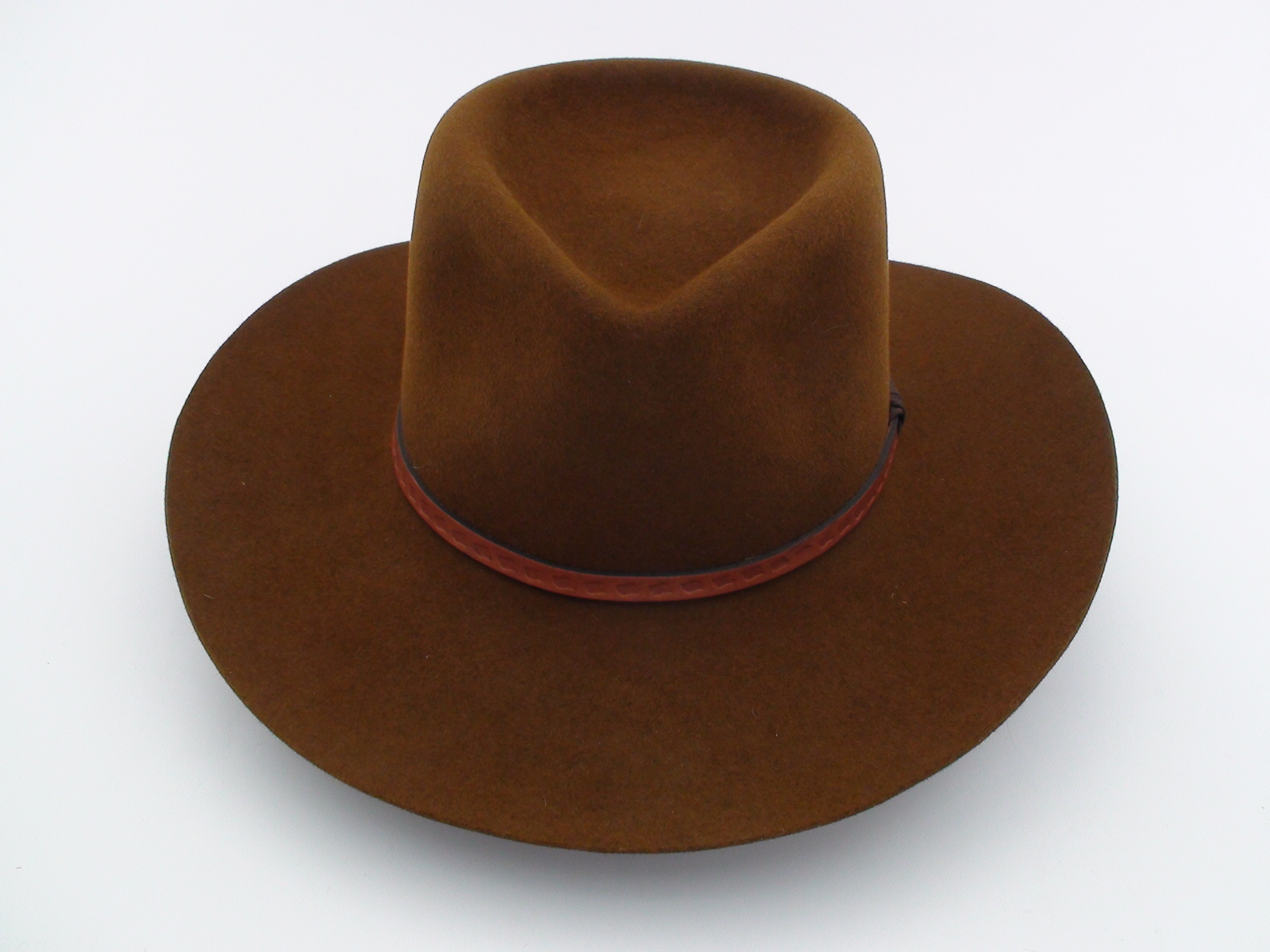 Smithbilt Hats Brown Fur Felt Western Cowboy Hat - Bernard Hats 776f9f6c50f