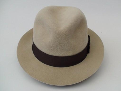 Smithbilt Hats Crushable Kakhi Fur Felt Fedora Hat