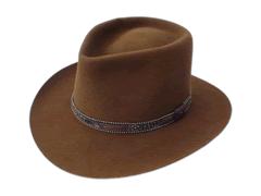 Smithbilt Hats Brown Fur Felt Western Cowboy Hat