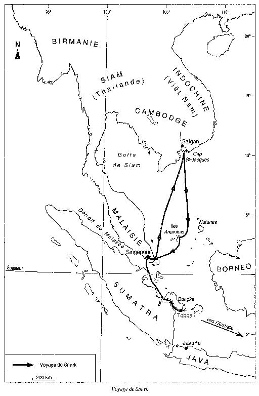 Voyage-de-Bernard-Moitessier-sur-Snark en 1951